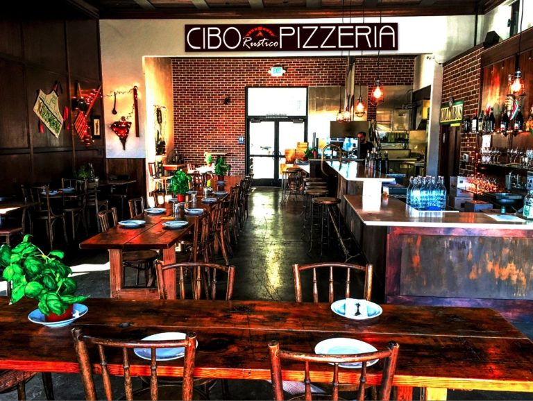 Best Wood-Fired Pizza in Santa Rosa at CIBO Rustico Pizzeria and Wine Bar