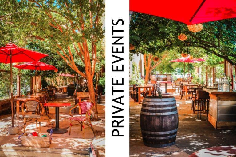 private winery event in santa rosa